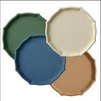 Europe style round wood storage tray wood serving tray home decor trays bandeja joyas serving tray wood TYTP021