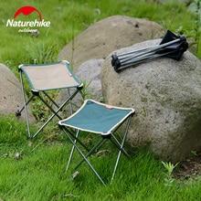 NatureHike New ultralight Outdoor Foldable Beach Chair stool fishing chair Aluminium Alloy Camping Hiking Chair folding stool L