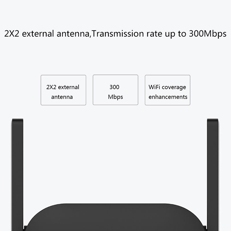 cheapest XiaoMi WiFi Amplifier Pro 300Mbps Wi-Fi Repeater Signal Amplificador Extender Roteador Mi Wireless Router APP Smart Control