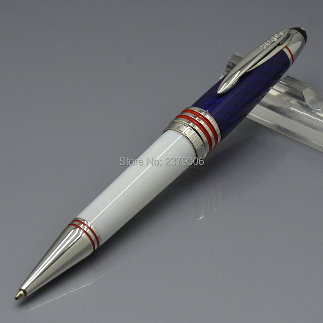 Luxury JOHN F. KENNEDY Special Edition 2 Colors Carbon Fibre Ballpoint Pen  School Office Stationery