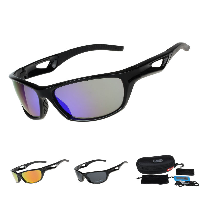 COMAXSUN Polarizirane naočale za biciklizam Zaštitne naočale za vožnju biciklom Vožnja ribolova Sportski sportovi na otvorenom Sunčane naočale UV 400 Tr90