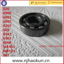 Free shipping 1pcs 626 6900 6803 6805 6205 686 6903 6902 6006 MR105 MR103 687  full SI3N4 ceramic bearing цена и фото