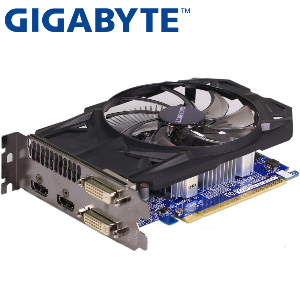 GIGABYTE Video Card GTX750 1GB 128Bit GDDR5 Graphics Cards for nVIDIA Geforce Original GTX 750 DVI HDMI Used VGA Cards Map-in Graphics Cards from Computer & Office on Aliexpress.com | Alibaba Group