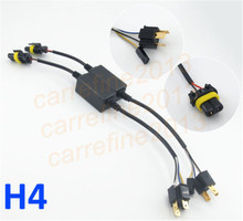 hid H4-3 hi lo car truck bike motorcycle wire harness H13 9008 bi xenon h4 socket connector 35w 55w 9007 hid relay harness cable