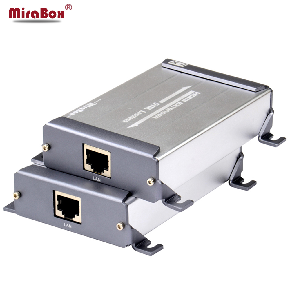 HDMI Ethernet Extender IR 1 TX to 1 RX With Video Lossless and No Latency Time Full HD Over CAT5e/6 UTP Cable rj45 HDMI TX RX hdmi коммутаторы разветвители повторители gefen ext hd2irs lan tx
