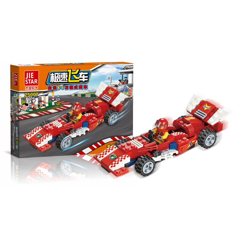 High speed Racing car Blocks 110pcs Bricks Building Blocks Sets Model Bricks Educational Toys For Children F1 Formula racing цена