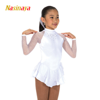 Nasinaya Figure Skating Dress Customized Competition Ice Skating Skirt for Girl Women Kids Patinaje Gymnastics Performance 261