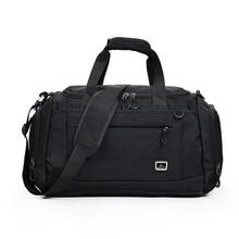 купить Large Capacity Sport Bags Gym Bag Men Woman Fitness Training Yoga Bags Waterproof Travel Outdoor Sports Bag Shoulder Handbag по цене 1611.01 рублей
