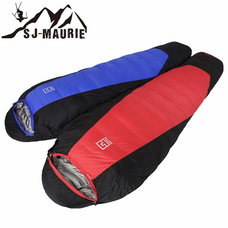 Outdoor Down Sleeping Bag Thick Ultralight Super Warm Camping Hiking Sleeping Bag 220*80*55cmOutdoor Down Sleeping Bag Thick Ultralight Super Warm Camping Hiking Sleeping Bag 220*80*55cm