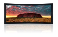 150 Inch Curved Frame Projector Screen Curved Frame Screen 150 Inch Curved Screen For Cinema Large