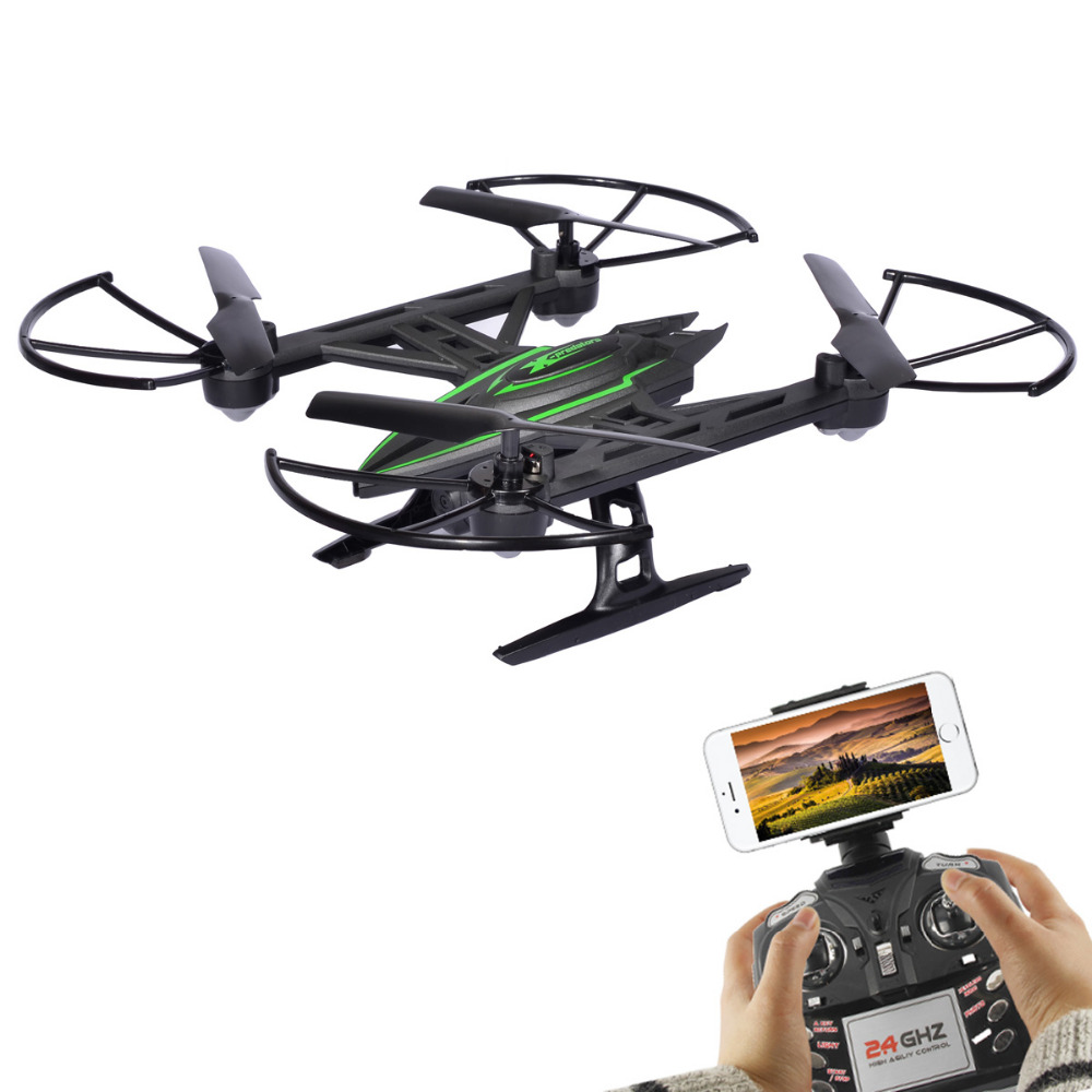 JXD 510W JXD510W WIFI FPV High Hold Mode One Key Return RC Quadcopter RTF 2.4GHz drone  with 0.3MP Camera jjr c jjrc h26wh wifi fpv rc drones with 2 0mp hd camera altitude hold headless one key return quadcopter rtf vs h502e x5c h11wh