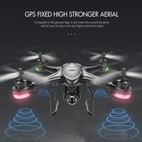 Дрон г 2,4 г Professional Dual gps Follow Me Квадрокоптер с камерой 400 P HD 1080 метров RTF FPV gps вертолет RC Квадрокоптер VR