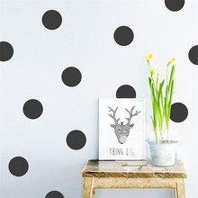 20pcs/54pcs Mini Polka Dots Wall Sticker Nursery Kids Rooms Children Wall Decals Refrigerator Home Decor DIY Art Wall Decoration