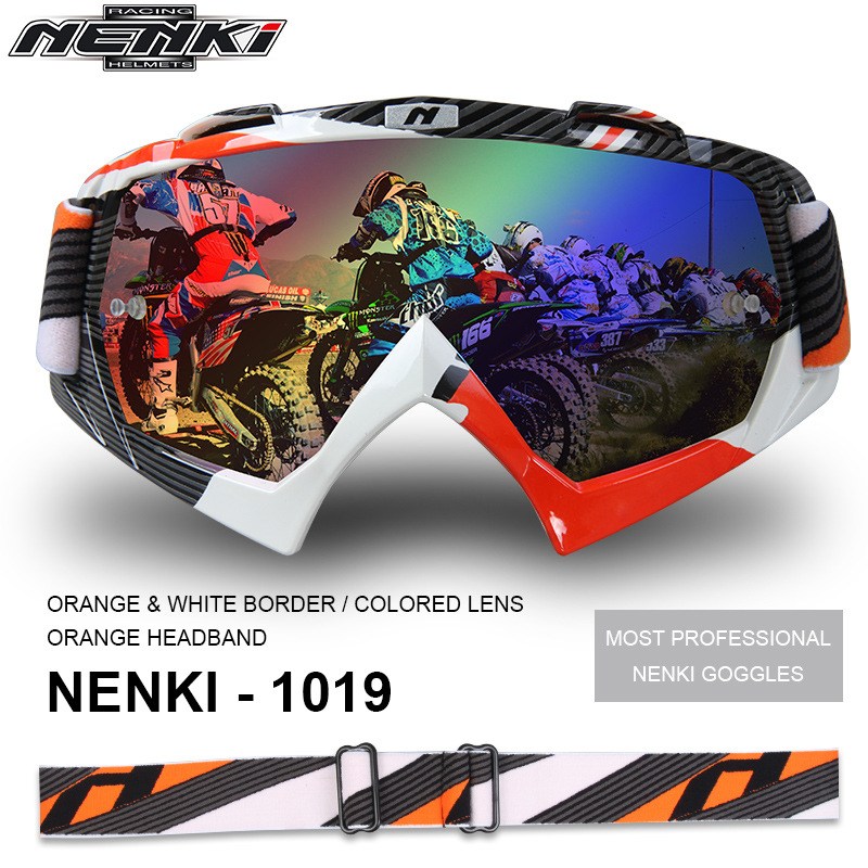 Moto Motocross lunettes lunettes cyclisme masque lunettes lunettes - 3