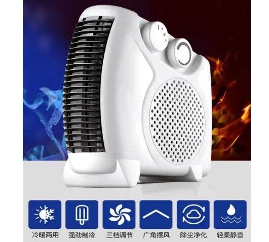 Neueste Kollektion Von Mini Klimaanlage Fan Sowohl Kühlung Heizung 3 Gang Anpassung Innen Haushalt Geräte Natürliche Wind Großgeräte Aromatischer Geschmack Klimaanlagen