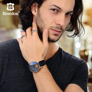 Image 4 - Bestdon montre mécanique pour hommes, accessoire de luxe, sport, Tourbillon, de marque, à la mode, suisse