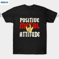GILDAN Positive Metal Attitude T Shirt
