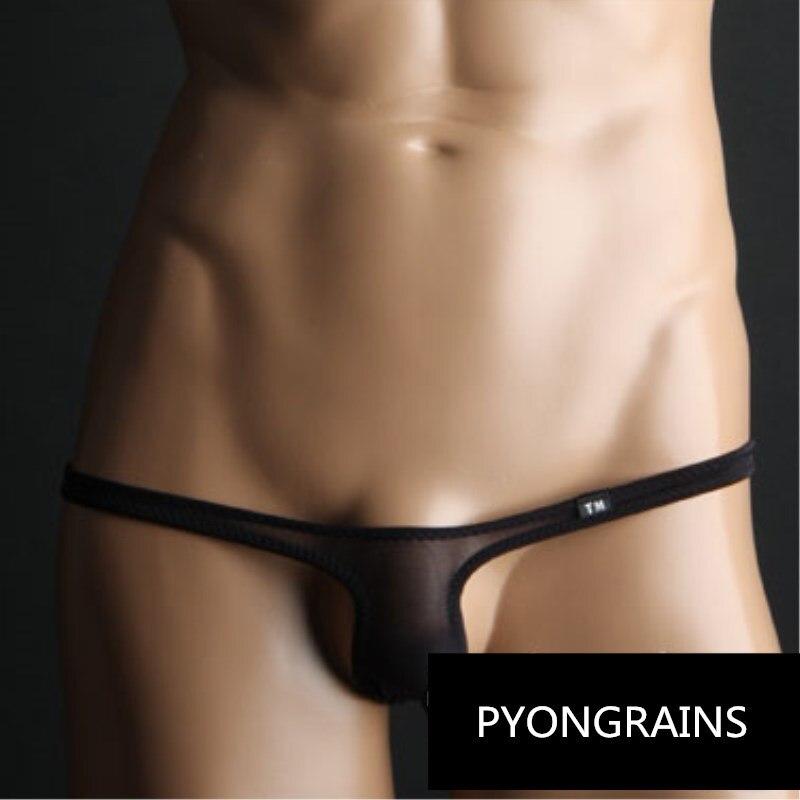 2018 Bikini Nylon Low Rise Gay Mens Thongs And G Strings Sexy Men Underwear Penis Pouch Mens Briefs Jockstrap Men Cueca Gay