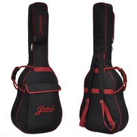 36 39 41 Inch Folk Guitar Package Acoustic Guitar Double Straps Padded Guitar Soft Case Gig