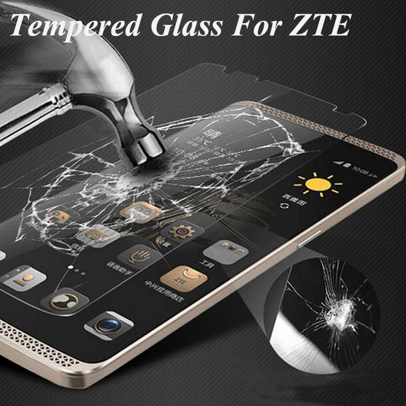 HD Ultra Thin Tempered Glass Screen Protector for ZTE Nubia Z7 Z7mini Z9max Z9mini Z7max L3 N9130 Z970 X3 X7 V5 V5max N9520