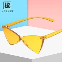 New Sunglasses Women Brand Design Retro Colorful Transparent Fashion Cateye Sun Glasses UV400