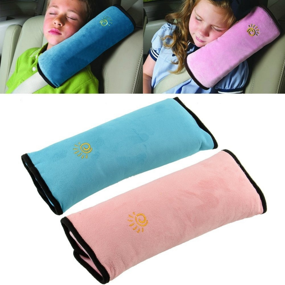 Child Kid Baby Car Seat Belt Pillow Shoulder Pad Cover Cushion Head Support