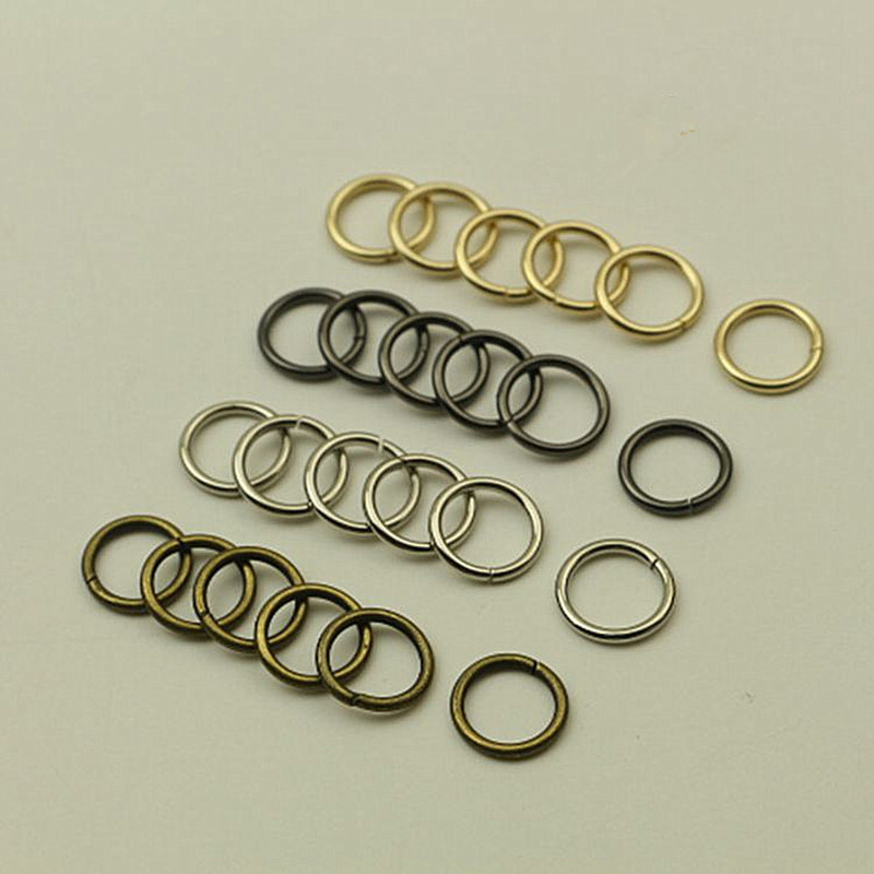 YIBO 8pcs Sewing hardware accessories open ring connection buckle coat sweater decorative handbag shoes luggage