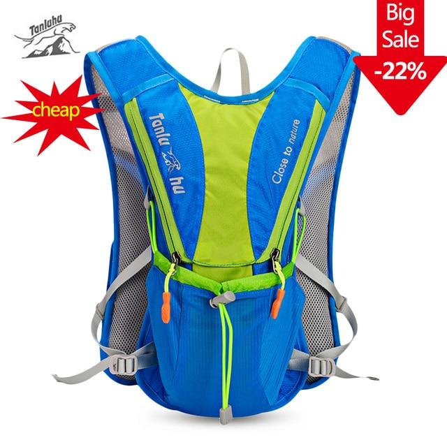 Tanluhu нейлон 10л водоотталкивающий для марафонов сумка сумки для активного отдыха и бега походный рюкзак жилет Велоспорт велосипед Рюкзак гидратация жилет