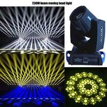 7R Sharpy 230 Вт движущийся головной Луч света 16+ 8 Призма gobos для сценического эффекта DJ освещение вечерние дискотеки
