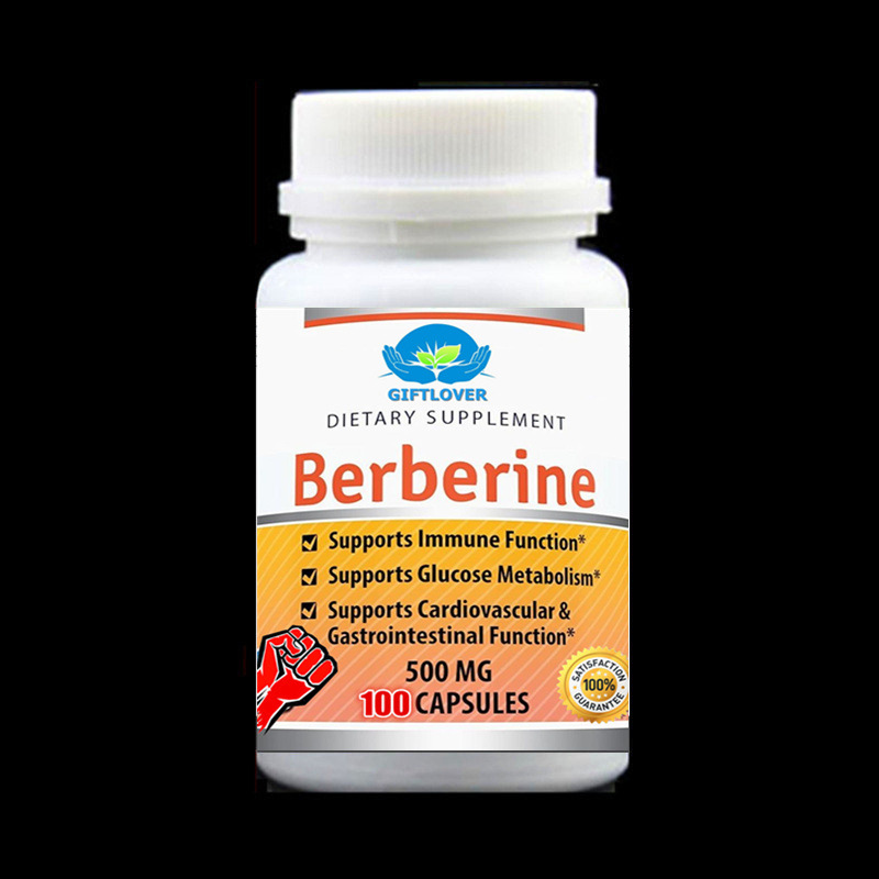 Amazing Formulas Berberine Extract - Supports Immune Function,Glucose Metabolism and Cardiovascular & Gastrointestinal Function 100pcs bottle ahcc supplement powerful supports immune health liver function maintains natural killer cell activity