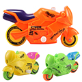 New Wind-Up Clockwork Toy Motorcycle Mini Cute Light Projection Motorbike Fun Running Motorcycle Baby Toy
