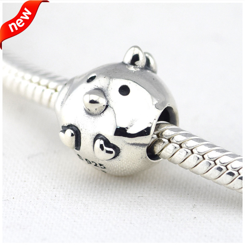 Beads Fits Pandora Bracelets 100% 925 Sterling Silver Jewelry Chicken  Europe Fashion Original Charms CKK-in Beads & Loose Gemstones from Jewelry  ...