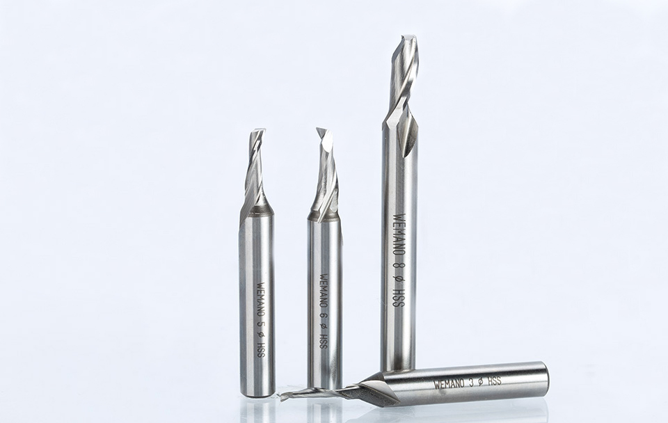 8mmx15mm CNC Router Bottom Cleaning Bit Milling Cutter Carving Woodworking