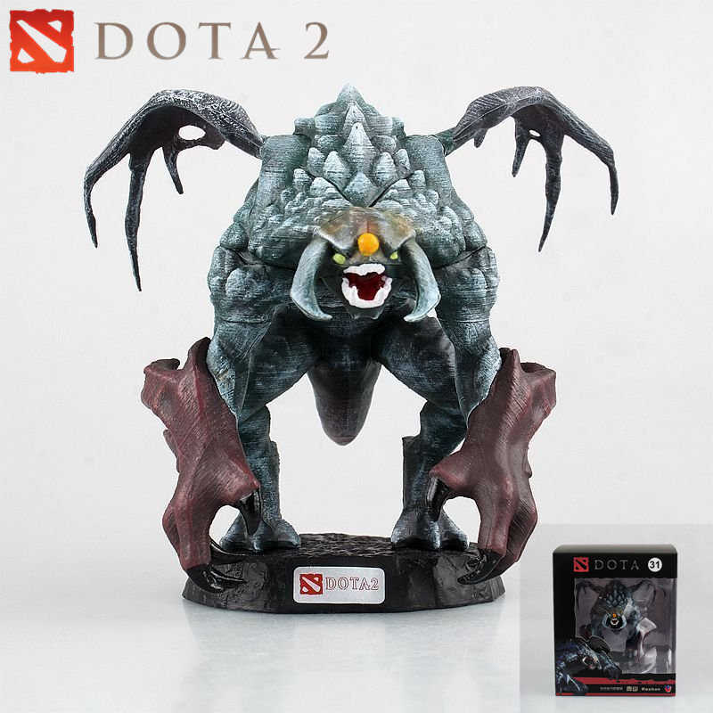 Dota 2 Moba Game Figure Roshan Pvc Model Action Figures Defense Of