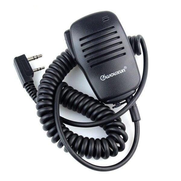 Mini Microphone PTT Speaker Mic For Kenwood BAOFENG UV5R 888S A52 PUXING WOUXUN