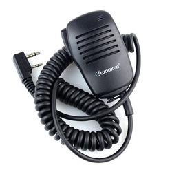 Mini micro PTT haut-parleur micro pour Kenwood BAOFENG UV5R 888 S A52 PUXING WOUXUN
