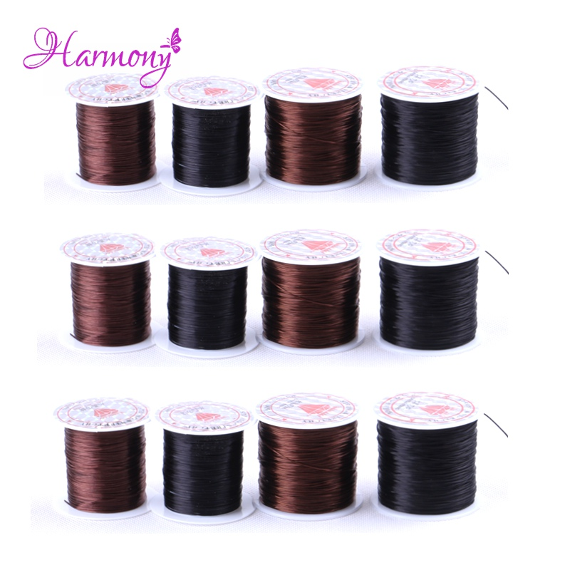 2rolls/lot 60m Stretchy Elastic Rope Cord Crystal String For Jewelry ...