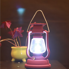 Solar Outdoor 16 led rechargeable lantern portable lights ca