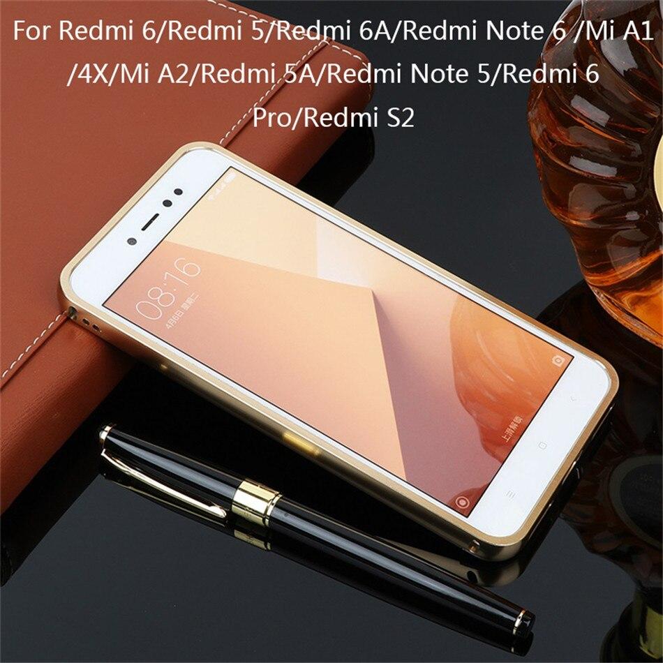 Luxury For Xiaomi Mi A1 A2 Redmi 5 Plus 6 6A 4X S2 Redmi Note 5 6 Pro Note  4X Glitter Mirror TPU Case (6)