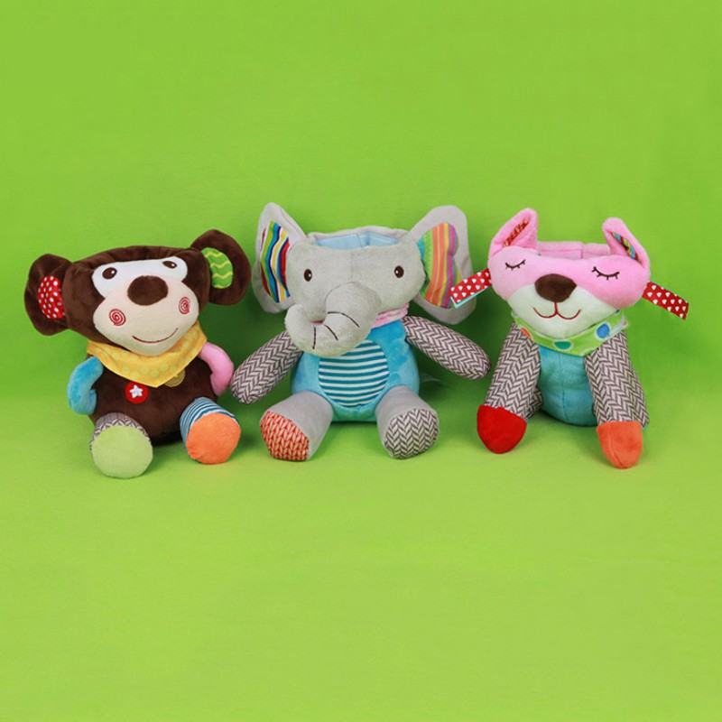 Animals Baby Feeding Bottle Plush Pouch Covers Nursing Keep Warm Holders Case Anti scalding Anti hot Pouch in Insulation Bags from Mother Kids
