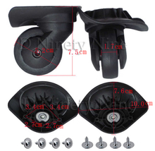A35 A38 A52 A53 Trolley Case Luggage Wheel Repair Universal Travel Suitcase Parts Accessories Wheel Replacement Wheels 1 Pair