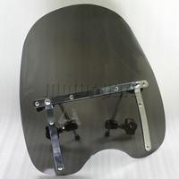 Large Windshield Windscreen 19 X17 For Harley Davidson Breakout Blackline Cross Bones Bad Boy FXSTSB With
