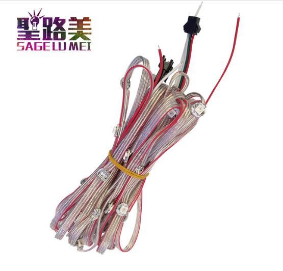 3500pcs 70rolls 5V ws2812b ws2811IC led pixel light panel 100pairs 3pin JST connector 100pairs 4pin JST