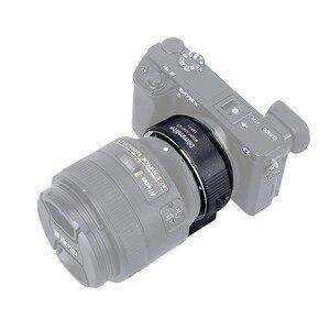 Image 3 - Commlite Lens adaptörü CM ENF E1 PRO otomatik odak lensi montaj adaptörü Nikon Tamron Sigma F dağı Lens için Sony E montaj kamera V06