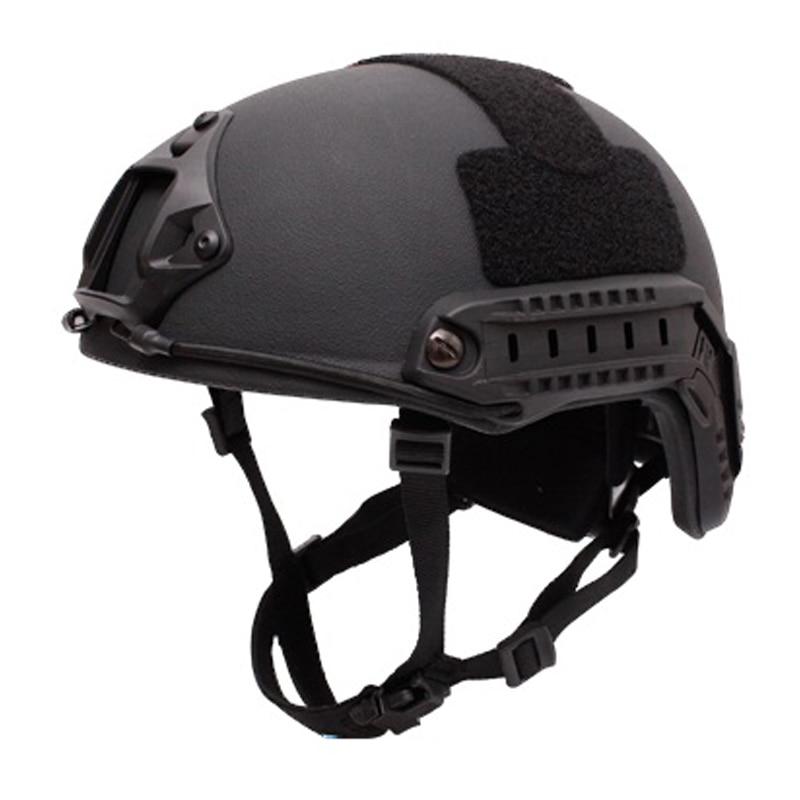 Ballistic Helmet Aramid INJ IIIA FAST Fast Riot Helmet Helmet Self Defense Military Tactics Bullet Proofof Riot Helmet