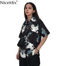 NiceMix Kimonos woman 2019 Japanese kimono cardigan cosplay shirt blouse for women yukata female summer beach DD