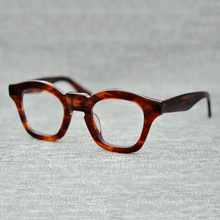 af07df46e75e Vazrobe Glasses Frame Women Acetate Eyeglasses Man Thick Rim Tortoise Black  Nerd