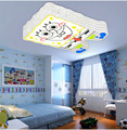 Прекрасный Детский Креативный светодиодный потолочный светильник из кованого железа для спальни и учебы  потолочный светильник 110-240 В