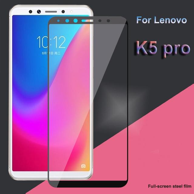 สำหรับ Lenovo K5 Pro L38041 กระจกนิรภัยสำหรับ Global รุ่น Lenovo K5 Pro ป้องกันหน้าจอเต็มรูปแบบฟิล์มแก้วฟิล์ม Lenovo k5 Pro