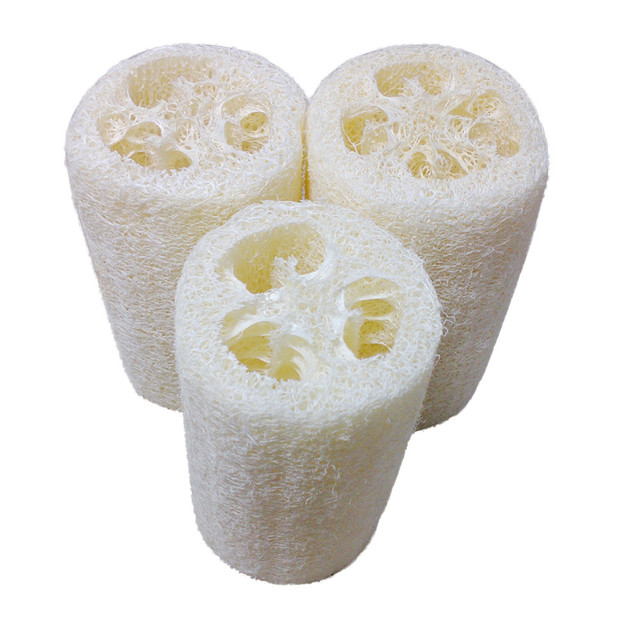 2018 New Fashion New Natural Loofah Bath Body Shower Sponge Scrubber Pad Hot For Home Supply With High Quality Drop Shipping Hot